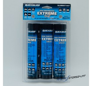 Mercury/Quicksilver High Performance Extreme Grease - 3er Pack 85g-Kartuschen (92-8M0071837)
