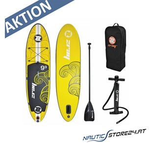Z-Ray X1 SUP Stand Up Paddle Board gelb 2,97m lang