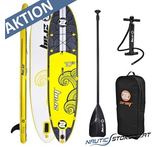 Z-Ray X2 SUP Stand Up Paddle gelb 3,30m lang