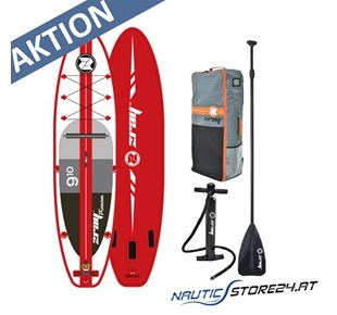 Z-Ray A1 SUP Stand Up Paddle Board in rot 3m lang