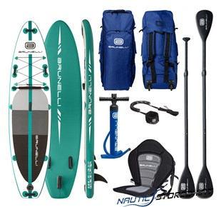 Brunelli Premium 300 SUP Stand up Paddle Board in türkis