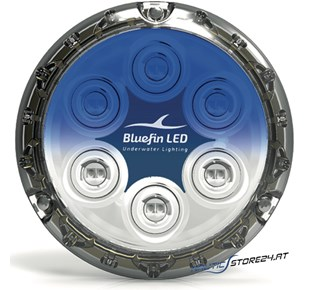 BluefinLED Piranha P12 12 LED (5.500 Lumen) 12-24V Ø 110x17,6mm
