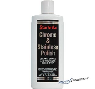 Chrome und Stainless Polish - 237ml