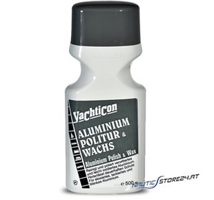 Yachticon Aluminium Politur + Wachs - 500ml