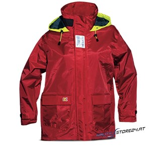 crazy4sailing Kindersegeljacke Columbia rot