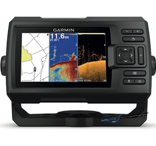 Garmin Fishfinder Striker Plus 5cv mit ClearVü-Geber
