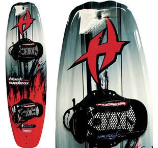 Wakeboard-Set Black Widow - Schuhgröße 35-47