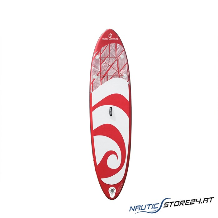 Spinera SUP Supventure 10´6 DLT - 320x80x15cm Stand Up Paddle Board rot